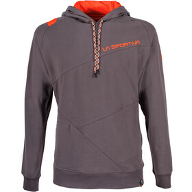 La Sportiva M's Magic Wood Hoody Carbon/Tangerine